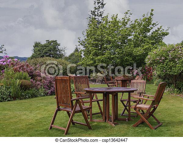 jardin anglais - csp13642447