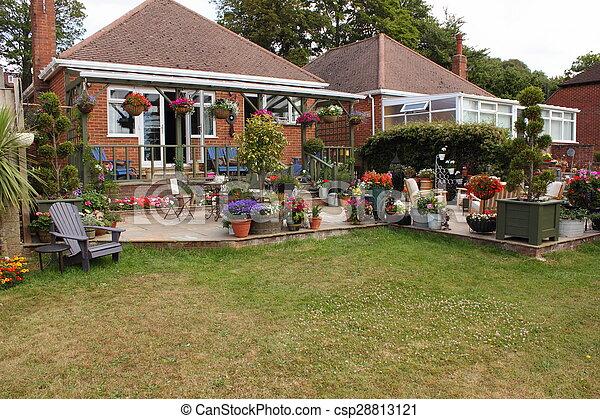 jardin anglais - csp28813121