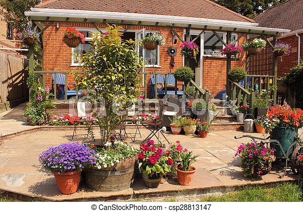 jardin anglais - csp28813147