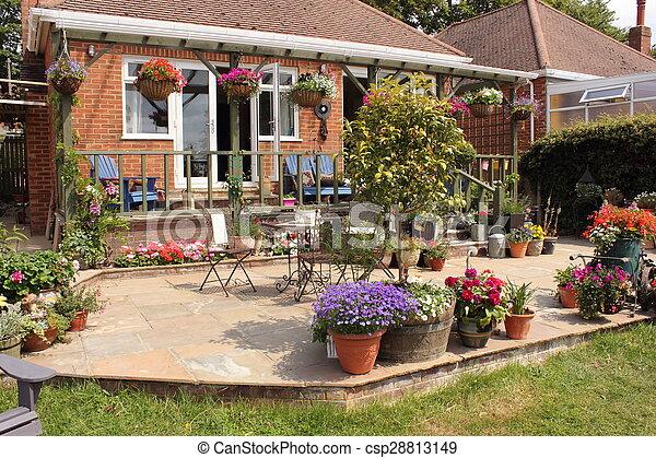 jardin anglais - csp28813149