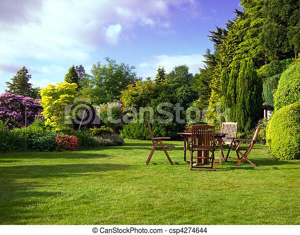 jardin anglais - csp4274644