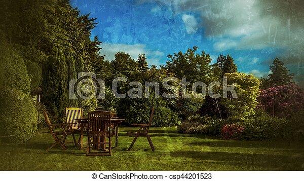 jardin anglais - csp44201523