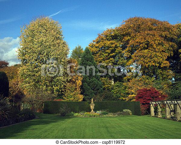 jardin anglais - csp8119972