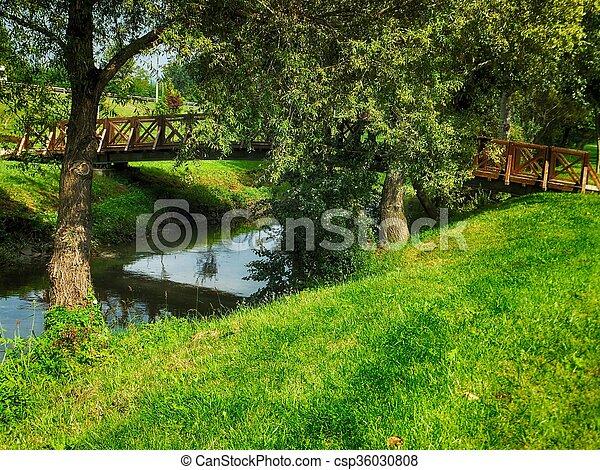 jardin - csp36030808