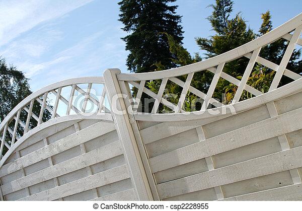 jardin, barrière - csp2228955