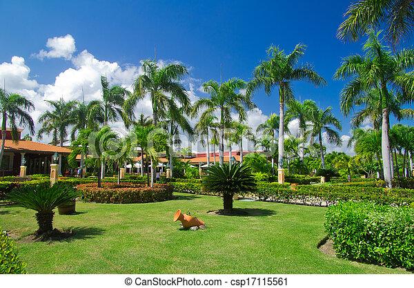 jardin - csp17115561