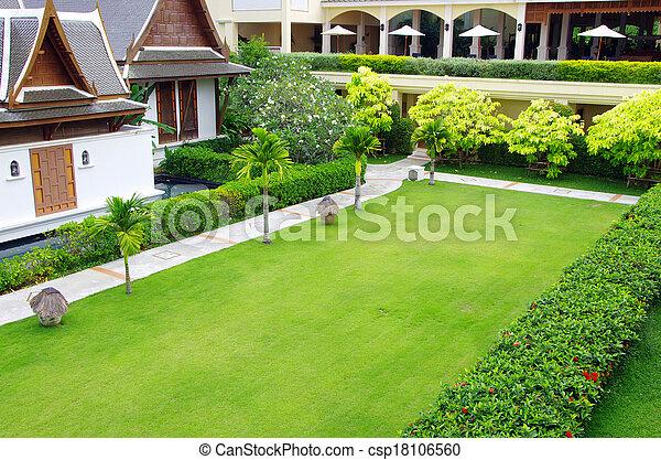 jardin - csp18106560