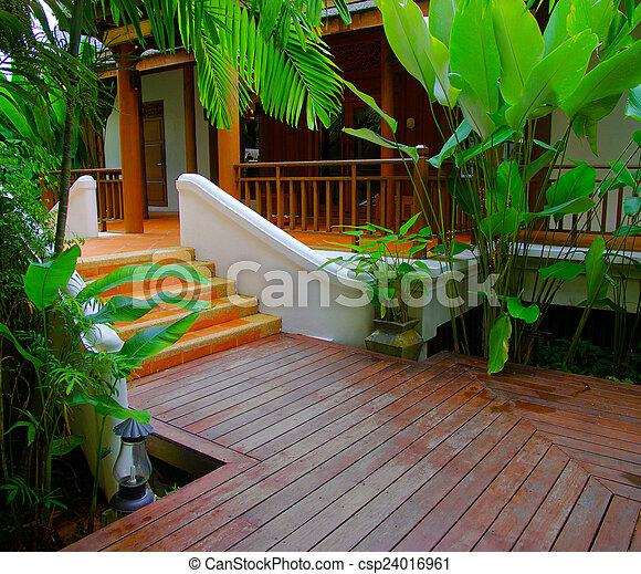 jardin - csp24016961