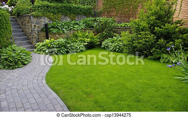jardin - csp13944275