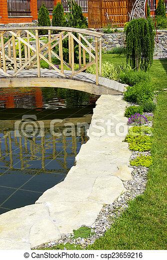 jardin - csp23659216