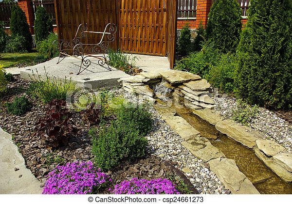jardin - csp24661273