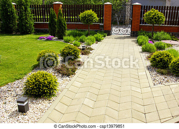 jardin - csp13979851