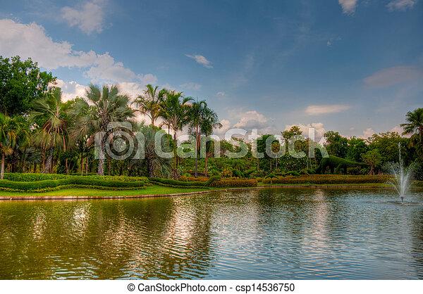 jardin - csp14536750