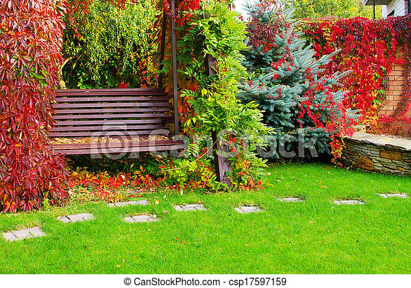 jardin - csp17597159