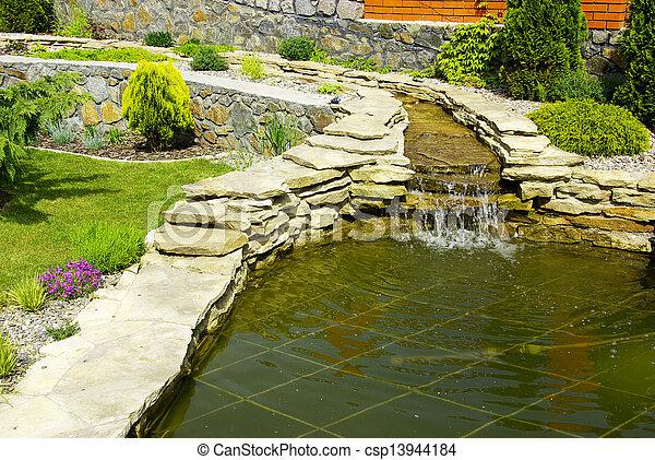 jardin - csp13944184