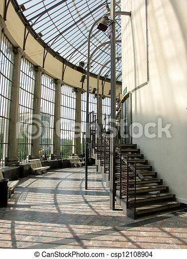 Jardin Interieur Detail Botanique Architectural Le Vue