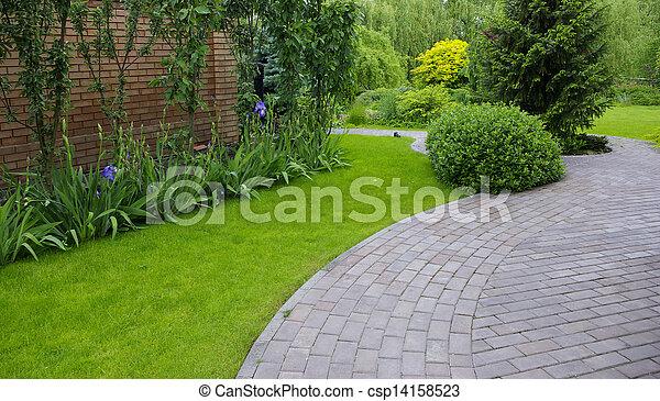 jardin - csp14158523