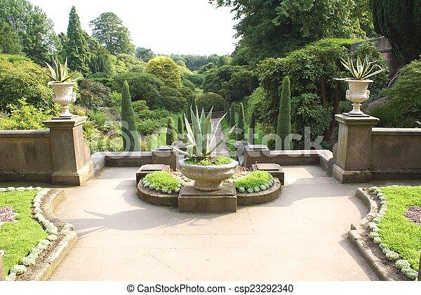 jardin - csp23292340