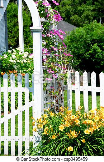 jardin - csp0495459