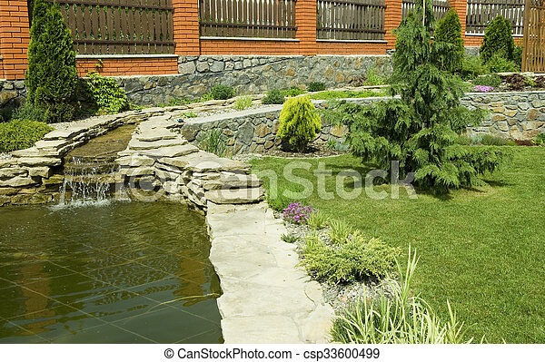 jardin - csp33600499