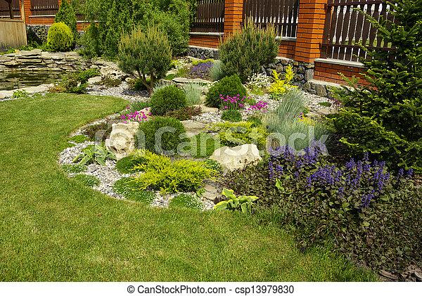 jardin - csp13979830