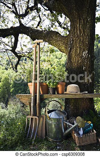 jardinage - csp6309308
