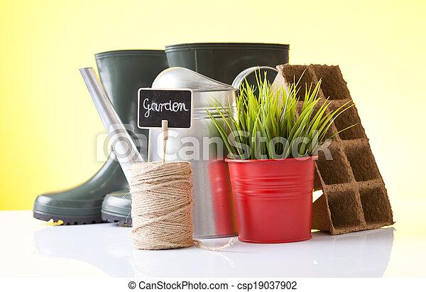 Jardinería - csp19037902