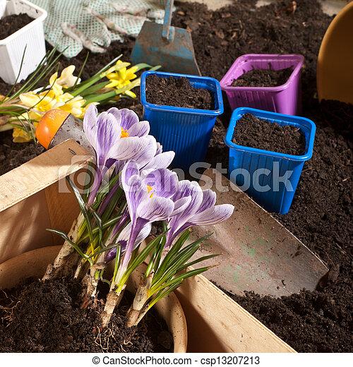 Jardinería, - csp13207213