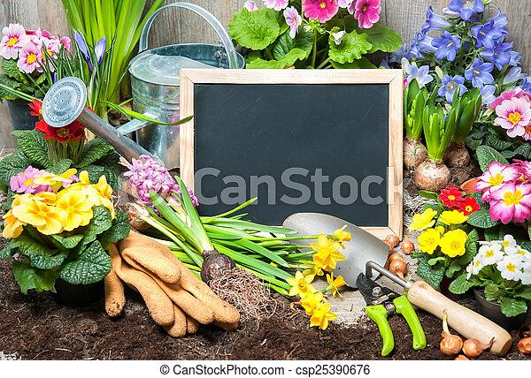 Jardinería - csp25390676