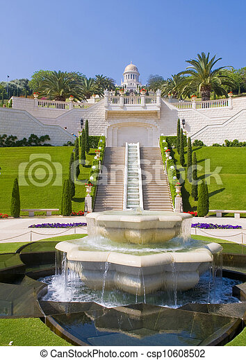 Jardines Bahai - csp10608502