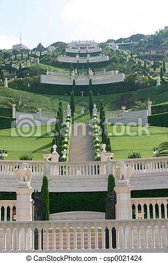 Jardines Bahai - csp0021424