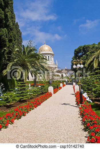 Jardines Bahai - csp10142740