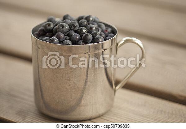 Un lodo lleno de bilberry - csp50709833