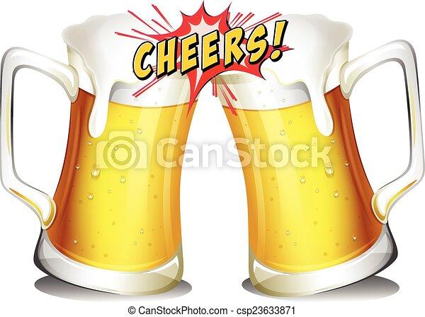 Jarras cervezas cervezas blanco jarras plano de fondo for Jarras para cerveza