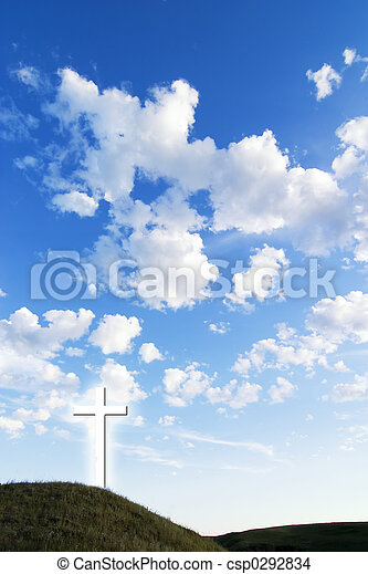 jarzący się, krzyż - csp0292834