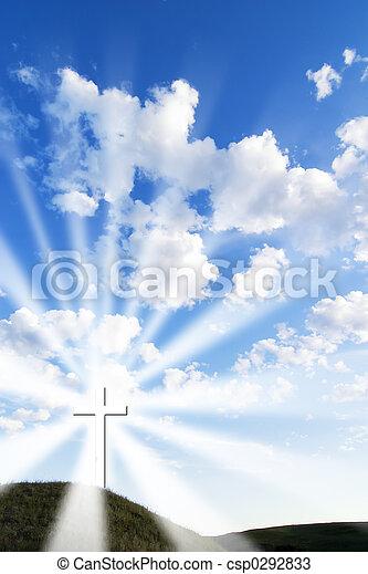 jarzący się, krzyż - csp0292833