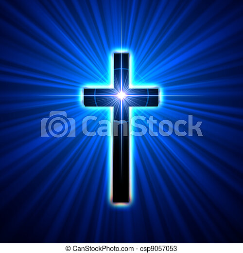 jarzący się, krzyż - csp9057053