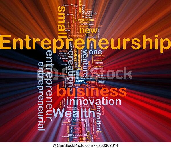 jarzący się, pojęcie, handlowy, tło, entrepreneurship - csp3362614