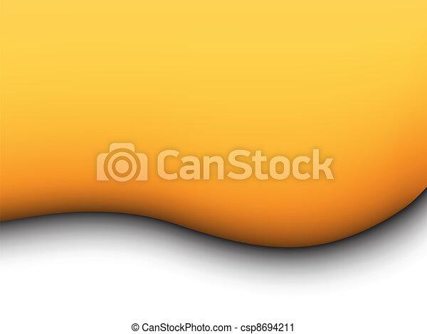 jaune, liquide, fond - csp8694211