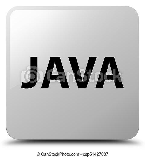 Java white square button - csp51427087