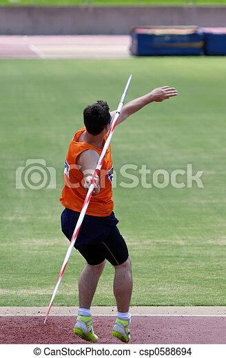 Javelin Thrower - csp0588694