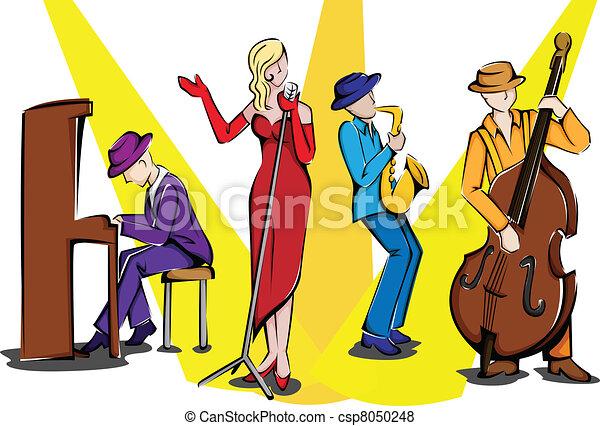 Jazz ensemble - csp8050248