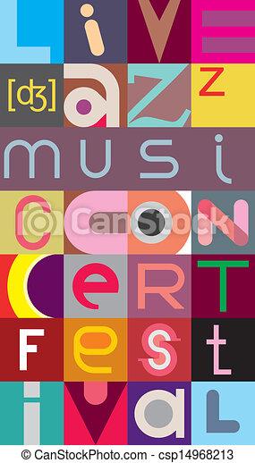 Jazz festival - csp14968213