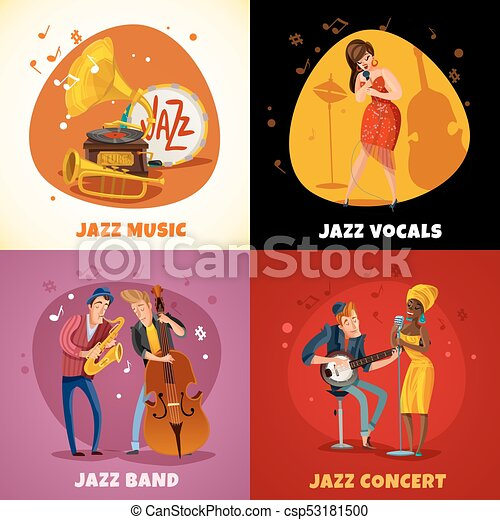 Jazz Music Design Concept