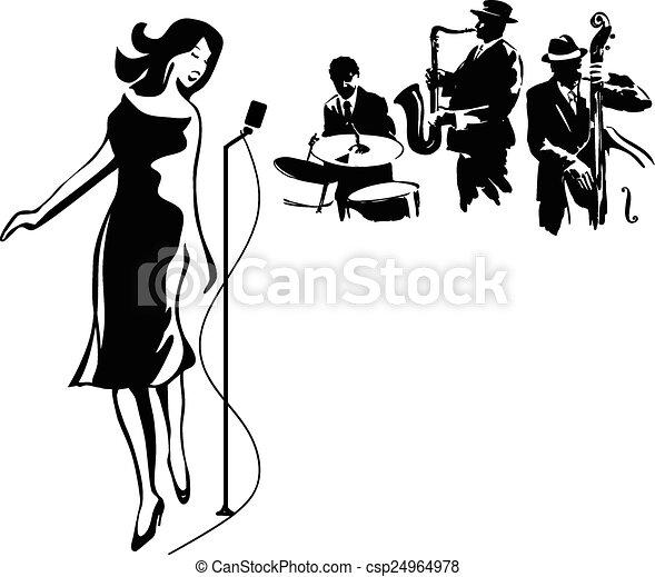 Jazz performance - csp24964978