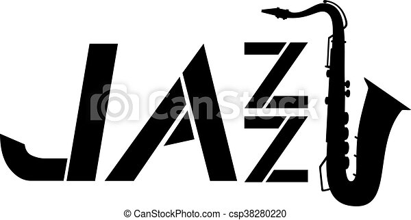 creative design of jazz symbol vector illustration search clipart rh canstockphoto com jazz clipart clipart jazz band