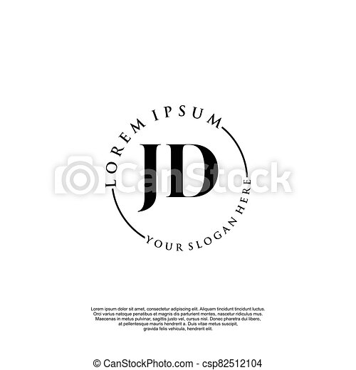 jd initial handwriting logo design initial handwriting logo design beautyful designhandwritten logo for fashion team canstock https www canstockphoto com jd initial handwriting logo design 82512104 html