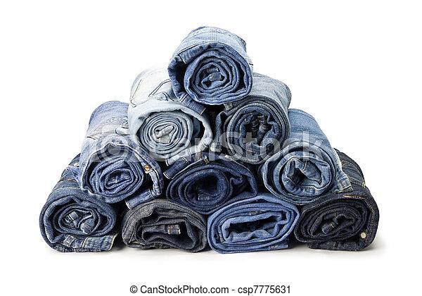 jeans, broek - csp7775631