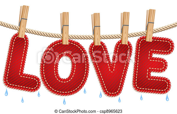 Jeans love drying on a...T Shirt Clip Art On Clothesline