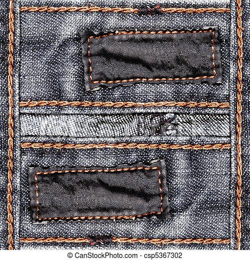 jeans, planlagt, bakgrund - csp5367302